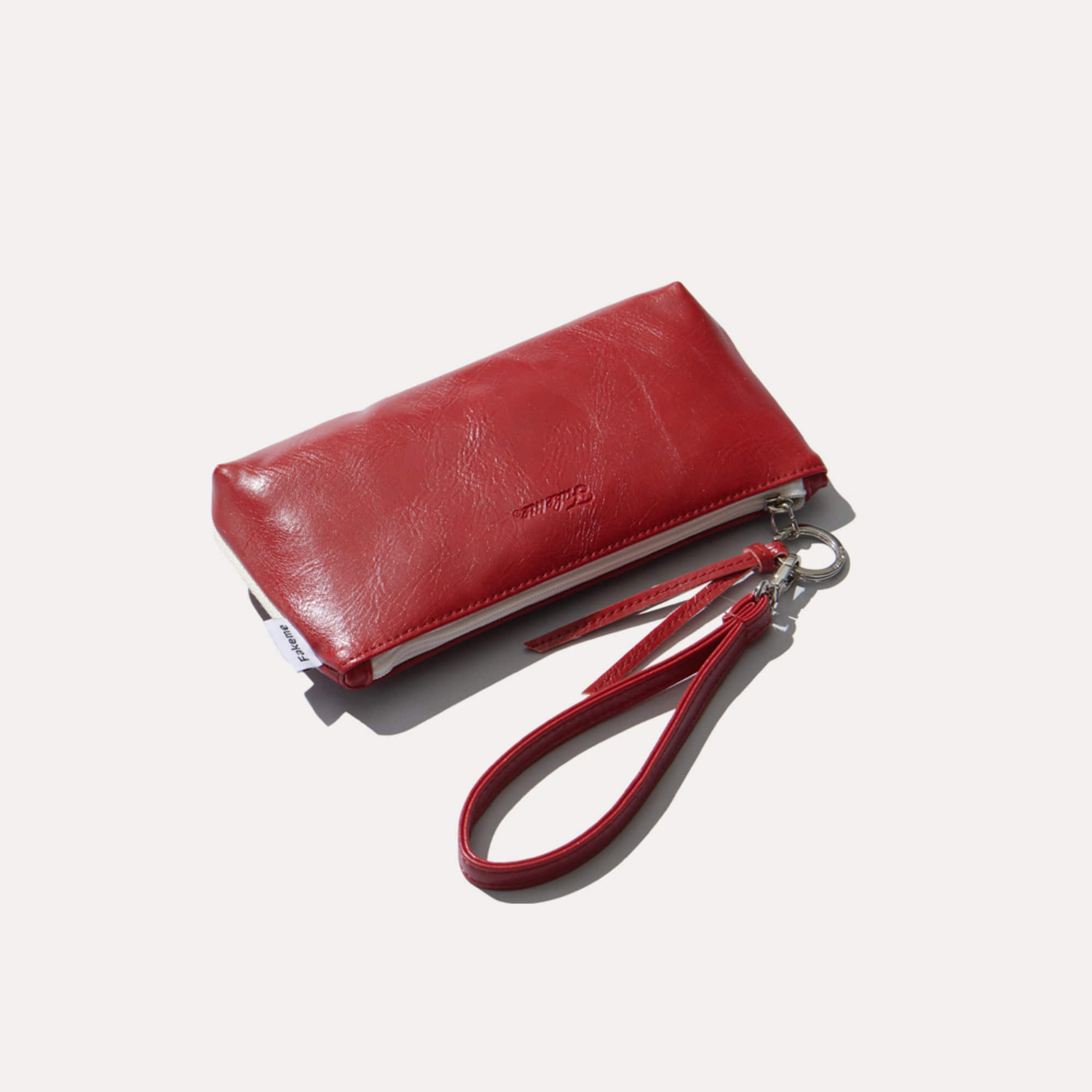 FAKEME CLASSIC EYEWEAR POUCH l RED